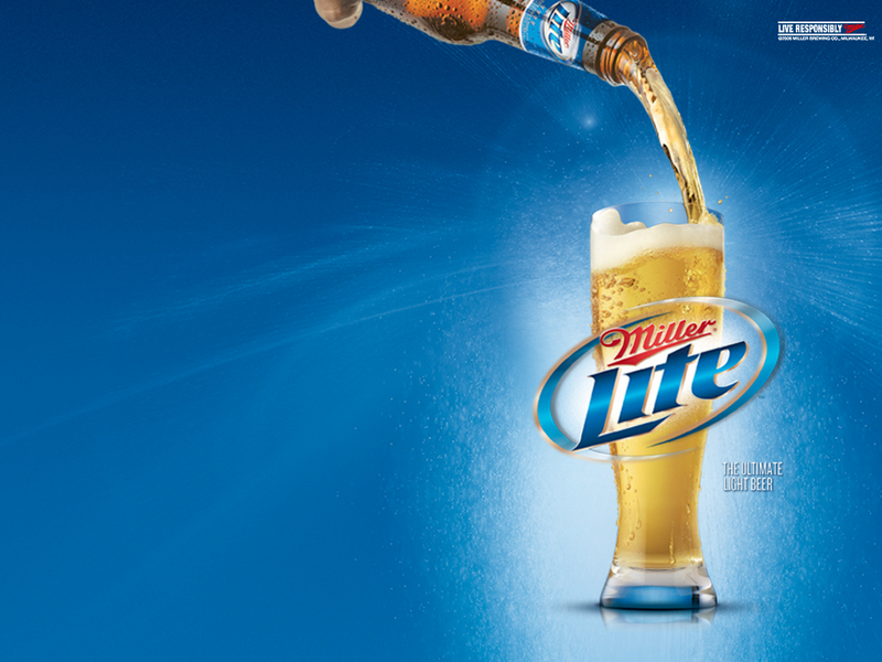 Pour yourself a Miller Lite